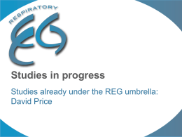 REG-Arch-Presentation_15-Feb-13_REG-studies