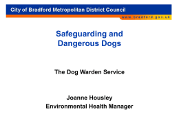 The Dog Warden Service