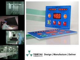 Tortai Overview - Membrane Switches