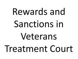4G_MacKenzie_Rewards&Sanctions in Vet Courts