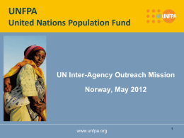 What is UNFPA?