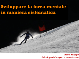 Mental Training - Sportpsychologie