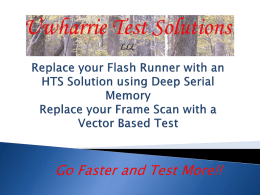 Replace Your FlashRunner with a Faster Solution