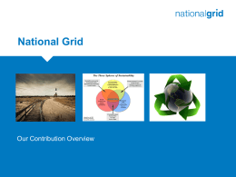 National Grid Power Point template