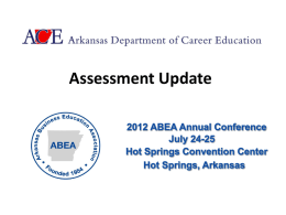 EOC Assessments--Out With the Old, In With the New! ()
