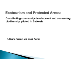 Ecotourism and Protected Areas: