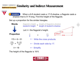 Similarity and Indirect Measurement(5