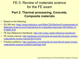 L-5: Thermodynamics of Mixtures (Chapter 7)