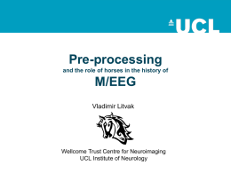 02_MEEG_Preprocessing - Wellcome Trust Centre for Neuroimaging