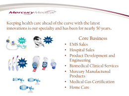 Medical Device Industry - Current Challenges