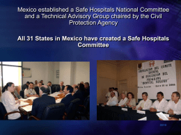 Safe Hospitals IHF Chicago Part II