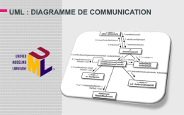 uml : diagramme de communication objets