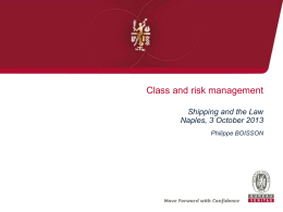 Class and risk management
