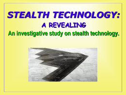 click to save-STEALTH TECHNOLOGY