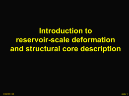 Structural core description