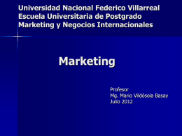 marketing holistico - DISPERSA INTERNACIONAL>>Ingeniería para