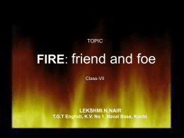 FIRE FRIEND & FOE - ZIET MYSORE LIBRARY