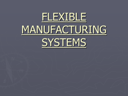 save-flexible manufacturing systems(fms)