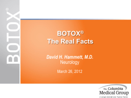 BOTOX® The Real Facts