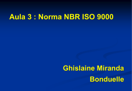 Norma NBR ISO 9000