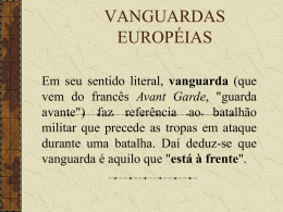 Vanguardas europeias 3