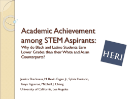 Academic Achievement among STEM Aspirants