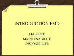 Concept FMD - Introduction