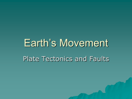 Earth`s Movement - Book Units Teacher