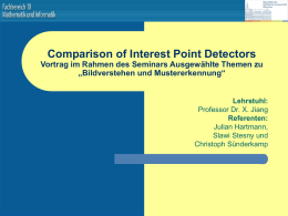 ppt - Computer Vision und Pattern Recognition Group