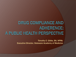 Drug Compliance in Patients with Hypertensive Disease