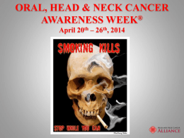 School Talk - Head and Neck Cancer Alliance