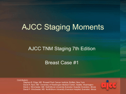 Staging Moments Breast Case 1