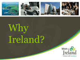 Why Ireland? - Meet In Ireland