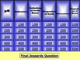acid/base jeopardy
