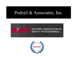 Podojil & Associates, Inc. - Podojil and Associates, Inc.