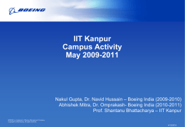 Boeing Corporate PPT Template