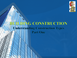 Building Construction Understanding Construction Pt 1