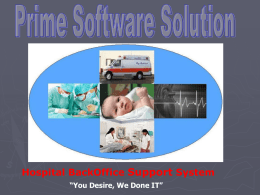 HBOSS Brochure - Prime Software Solution