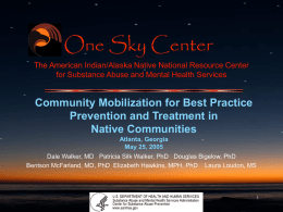 Community Mobilization for Best Practice