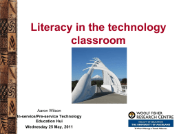 Technology - Literacy Online