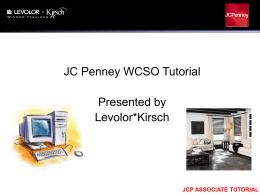 jcp associate tutorial