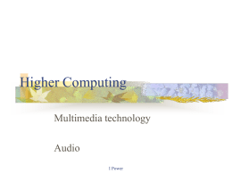 3 Audio - dooncomputing
