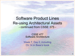 CSSE377Swre product lines - Rose