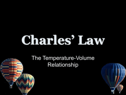 Charles` Law - World of Teaching