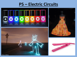 P5 – Electric Circuits