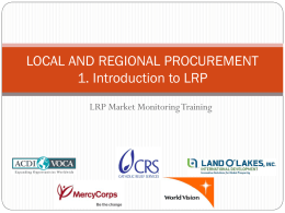 Introduction to LRP