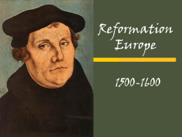 WH2.3 Reformation