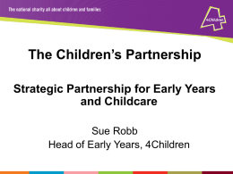 Strategic-Partnership-for-Early-Years-and-Childcare-Sue