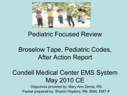 May 2010 CE: Pediatric Focused Review