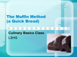 Muffin Method PowerPoint